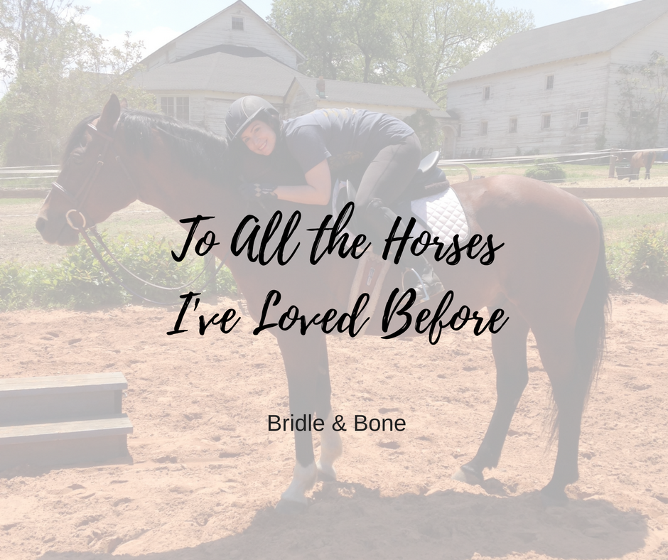 All the Horses I've Loved Before