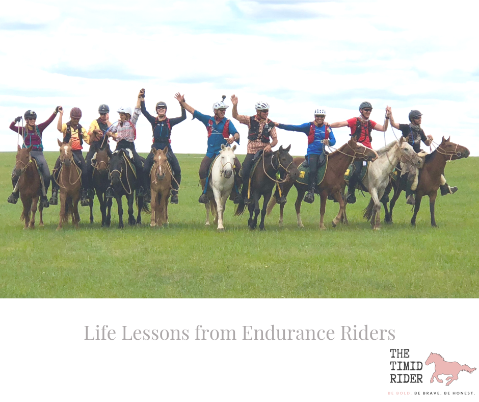 Life lessons from Endurance Riders