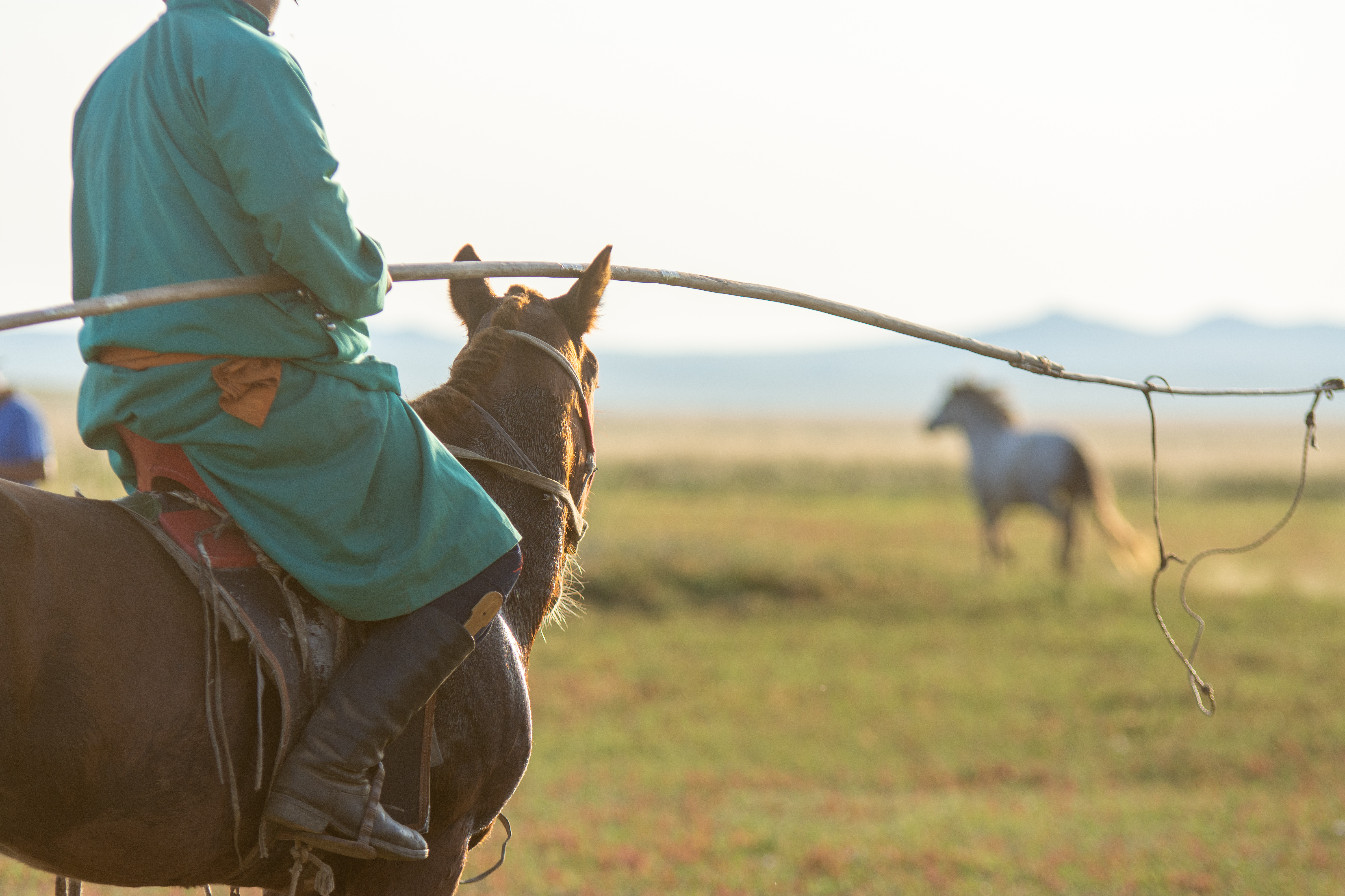 Mongolian Nomads know better than most how to be present in the moment.